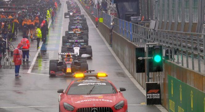F1: Verstappnu polovične točke za zmago v poplavljeni dirki za VN Belgije