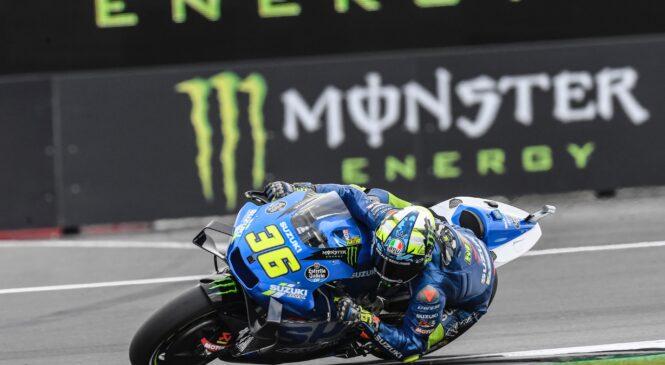 Joan MIR je obupal: 'Naslov prvaka MotoGP 2021 ni več dosegljiv'