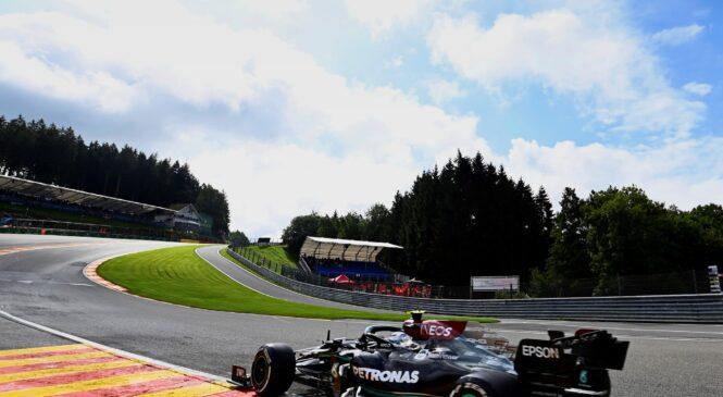 F1 VN Belgije: Bottas na FP1 pred Verstappnom, Hamilton 18.