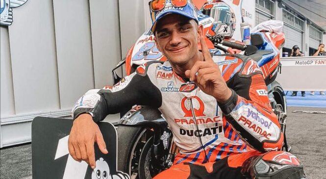 Jorge Martin skozi Q1 do drugega zaporednega pole positiona