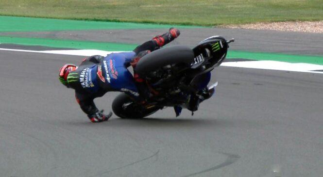 MotoGP: Quartararo najhitrejši na FP2 po grdem pacu