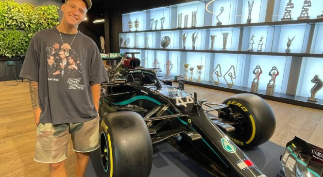 Quartararo se je preizkusil v Mercedesovem simulatorju F1