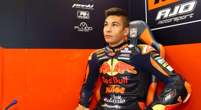 Raul Fernandez se ne strinja z napredovanjem v MotoGP