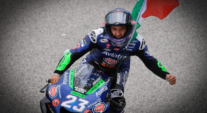 Bastianini: Prehiteti 'šefa MotoGP' Marqueza za stopničke je bilo fantastično