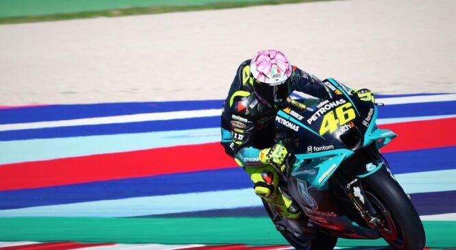 Valentino Rossi razočaran zaradi dveh padcev