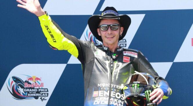 Rossi v Austinu obuja spomine na stopničke iz sezone 2019