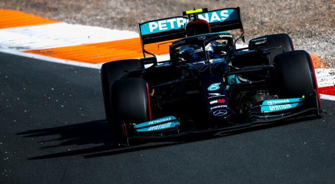 Nova Mercedesova motorja za Bottasa in Hamiltona