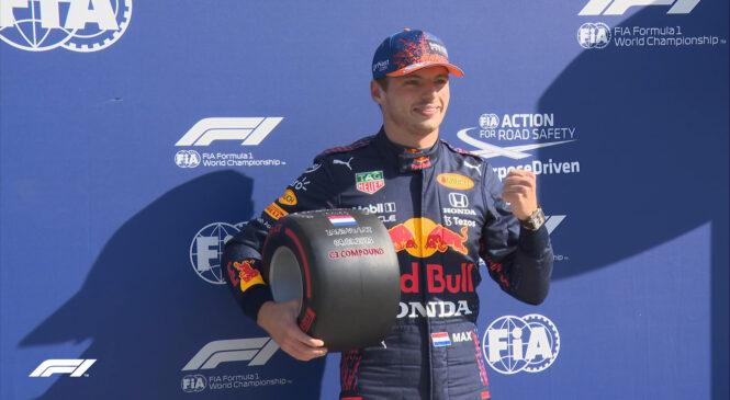 F1 onboard: Verstappnov krog za pole position na VN Nizozemske