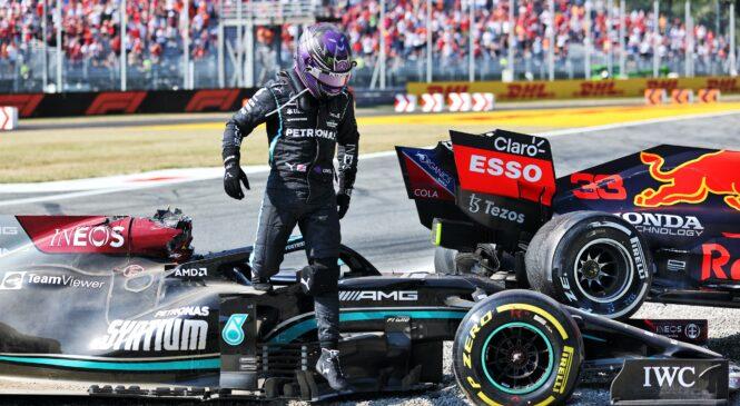 Hamilton: Verstappen je vedel, da bova trčila