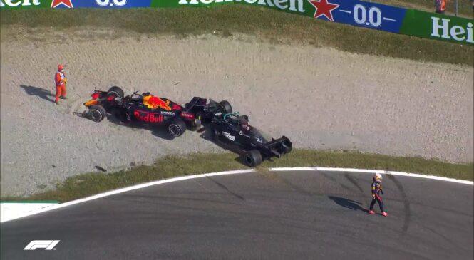 Hamilton in Verstappen gresta zaradi novega trčenja na zaslišanje (VIDEO)