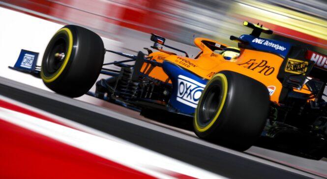 Formula 1 VN Rusije: Norrisu pole position, Hamilton šele s četrtega mesta