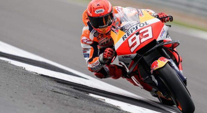 Marquezu prvi trening MotoGP v Aragoniji, Vinales prvič na Apriliji
