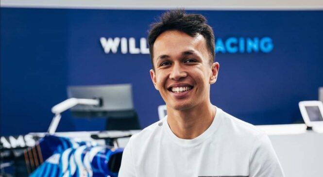 Alexander Albon se v 2022 vrača v F1 kot dirkač Williamsa