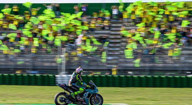 Rossijevo slovo od navijačev v Misanu