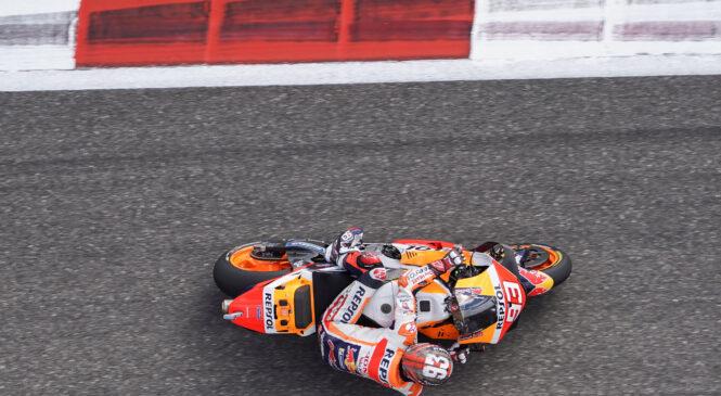 Marqueza presenetil najhitrejši čas treningov