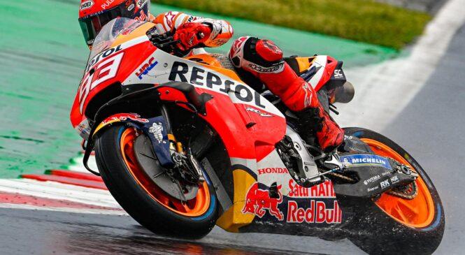 Marquez najhitrejši na prvem treningu MotoGP v Austinu