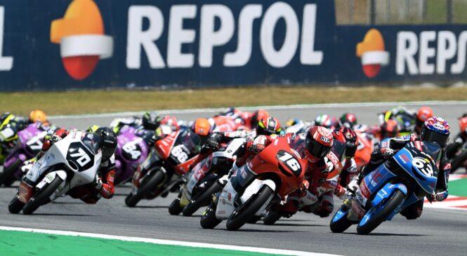 Z letom 2023 v prvenstva Moto3, Moto2 in MotoGP le še polnoletni dirkači
