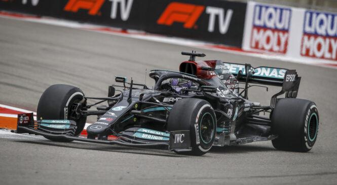 Lewis Hamilton zaradi kazni dirko v Turčiji začenja iz začelja